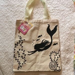 Color Changing Mermaid Tote Bag